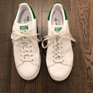 adidas stan smith, Size 10, green/white